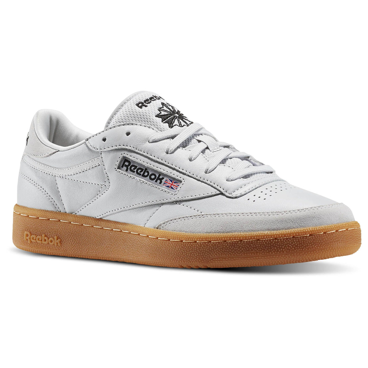 REEBOK - CLUB C 85 TDG - SKULL GREY/BLACK/RED