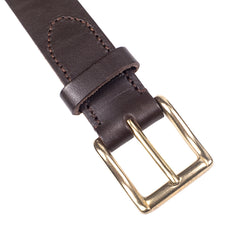 Mismo - Classic Belt - Dark Brown