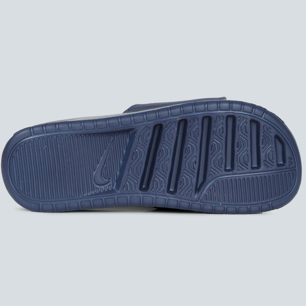 NIKE - BENASSI JUST DO IT ULTRA PREMIUM SLIDE - NAVY/MIDNIGHT NAVY