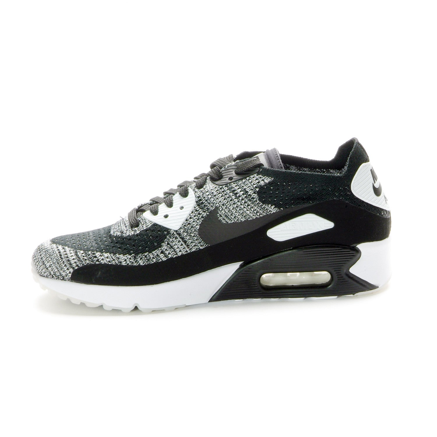 new concept e6daf 2c90d Nike - Air Max 90 Ultra 2.0 Flyknit - Black/White