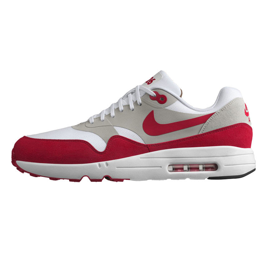 Nike Air Max 1 Ultra 2.0 LE White University Red Grey