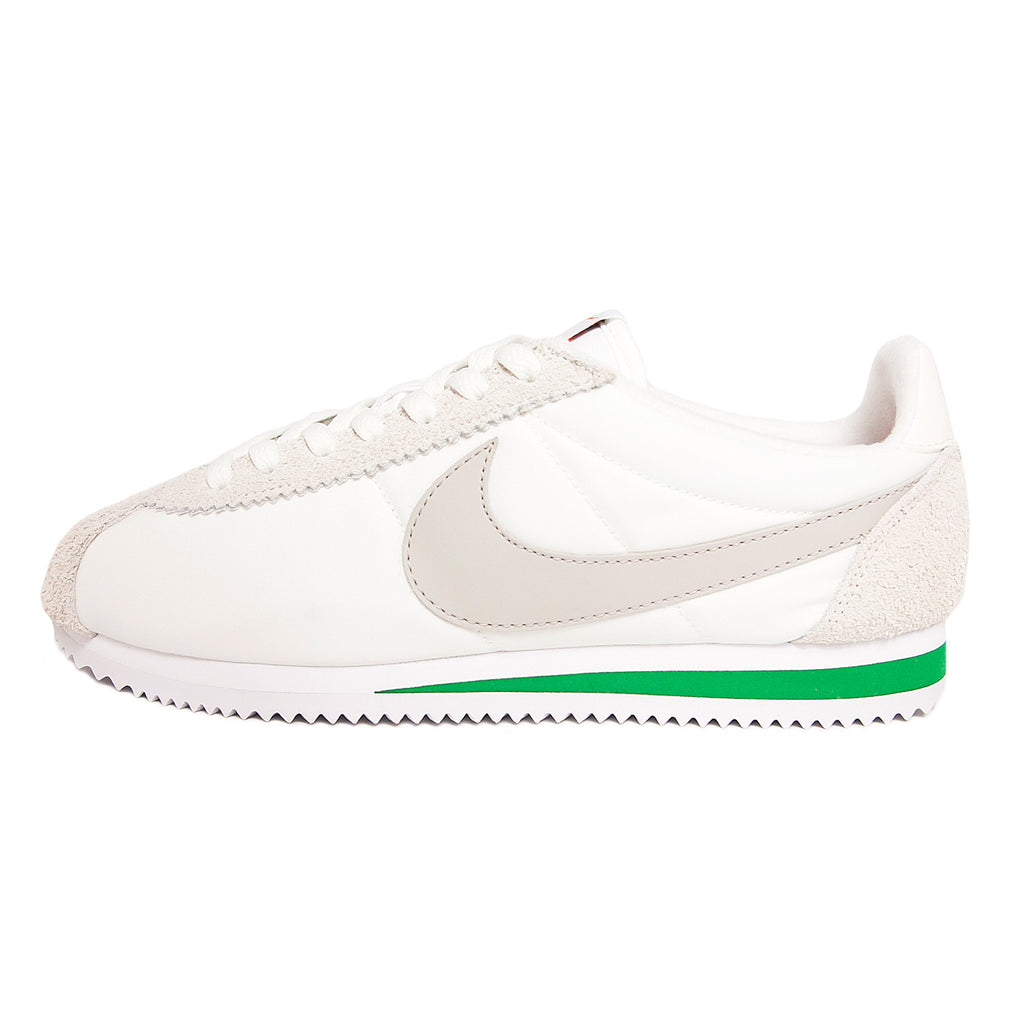 huge selection of 86d65 aa667 ... clearance nike classic cortez nylon premium ivory grey green 8818d  34ce8 ...