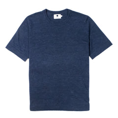 NN07 - CASPER MIX T-SHIRT - NAVY MELANGE