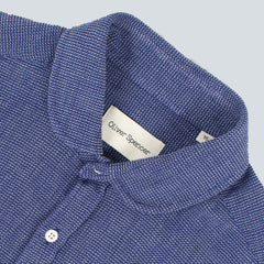 OLIVER SPENCER - CLERKENWELL TAB PICTON SHIRT - NAVY