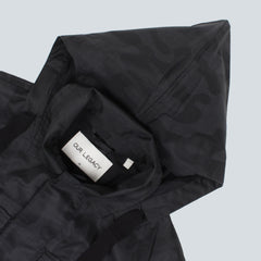 OUR LEGACY - CROPPED ARTILLERY PARKA - BLACK BRUSHED CAMMO