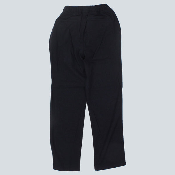 OUR LEGACY - RELAXED LIGHT WOOL FLEECE TROUSERS - NAVY