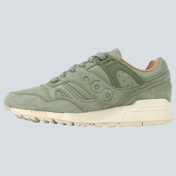 SAUCONY - GRID SD - OILED GREEN