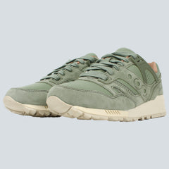 SAUCONY - GRID SD 'PUBLIC GARDENS' - OILED GREEN