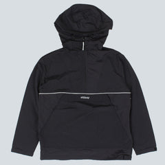 STUSSY-REFLECTIVE SPORTS PULLOVER SWEAT-BLACK