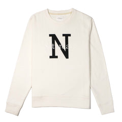 SATURDAYS NYC - BOWERY NY OVERLAY SWEATER - IVORY