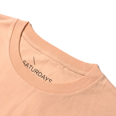 SATURDAYS NYC - BAR S/S TEE - CLAY