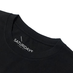 SATURDAYS NYC - MILLER STANDARD TEE - BLACK