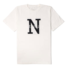 SATURDAYS NYC - NY OVERLAY TEE - IVORY