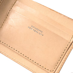 SATURDAYS NYC - BI-FOLD WALLET - RAW VEGETABLE TAN