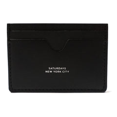 SATURDAYS NYC - RYAN CARD HOLDER - BLACK