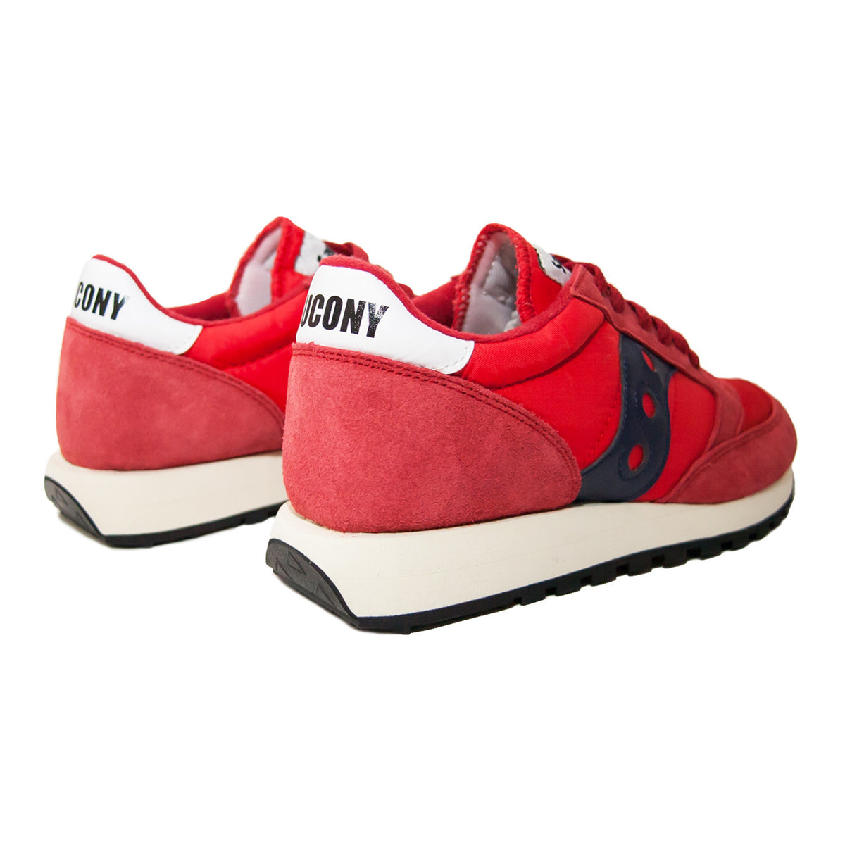SAUCONY - JAZZ ORIGINAL - RED/NAVY
