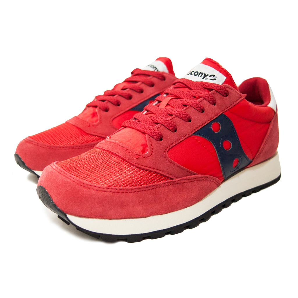 ed399c36db35 SAUCONY - JAZZ ORIGINAL - RED NAVY