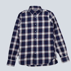 A.B.C.L-BD SHIRT-NAVY / RED CHECK