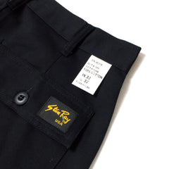 STAN RAY - TAPER FIT 4 POCKET FATIGUE - BLACK TWILL