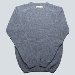HARLEY OF SCOTLAND - LAMBSWOOL JUMPER - STARDUST