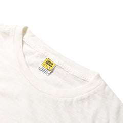VELVA SHEEN - ROLL T-SHIRT - OFF WHITE