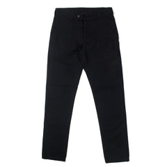 VETRA - TWILL FATIQUE PANT - BLACK