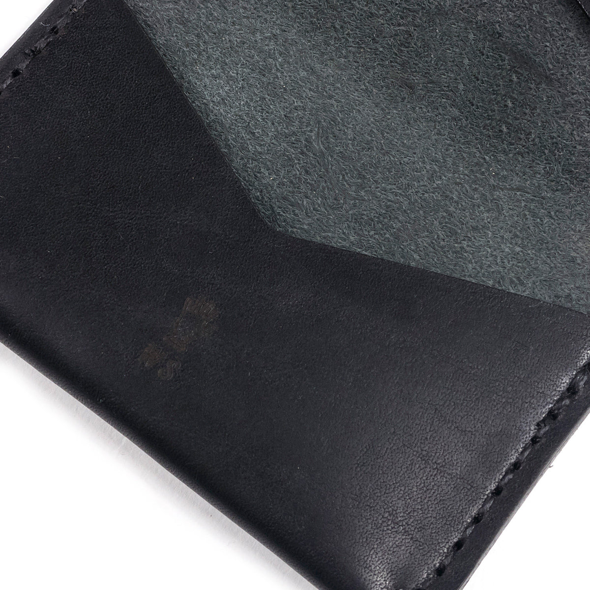 Winter Session - Triple Wallet - Black Dublin