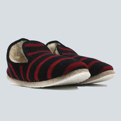 ARMOR-LUX SLIPPERS - BLUE / RED