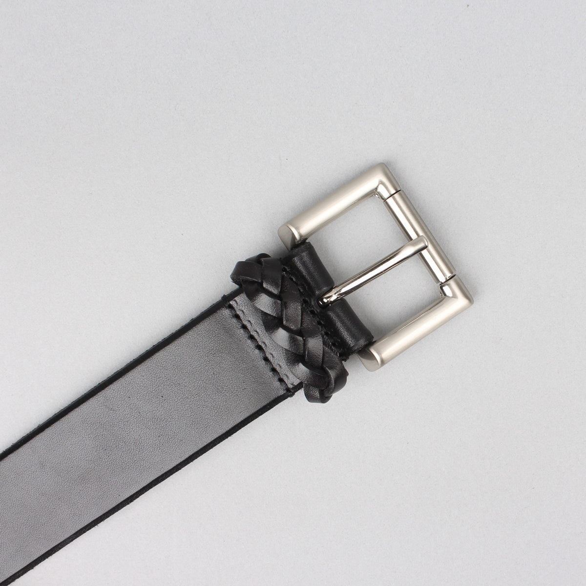 Anderson's - Calfs Leather Belt - Black