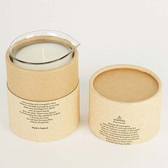 laboratory perfumes amber candle - candle in box