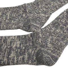 Rototo - Low Gauge Slub Socks - Medium Grey