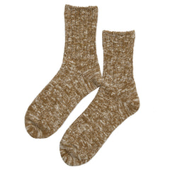 Rototo - Low Gauge Slub Socks - Mustard