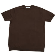 Fujito - Knit T-Shirt - Brown