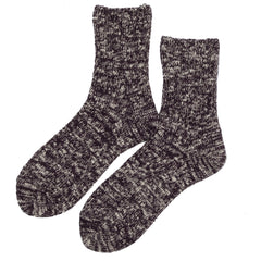 Rototo - Low Gauge Slub Socks - Burgundy