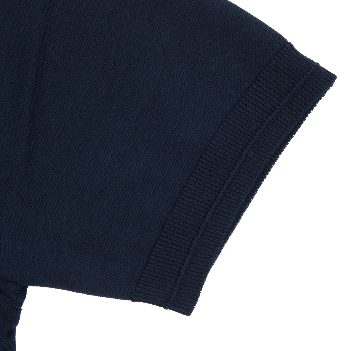 Fujito - Knit T-Shirt - Navy