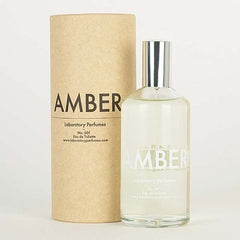 laboratory perfumes amber eau de toilette - box and bottle