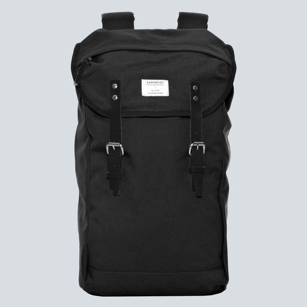 Sandqvist Hans Backpack - Black / Black