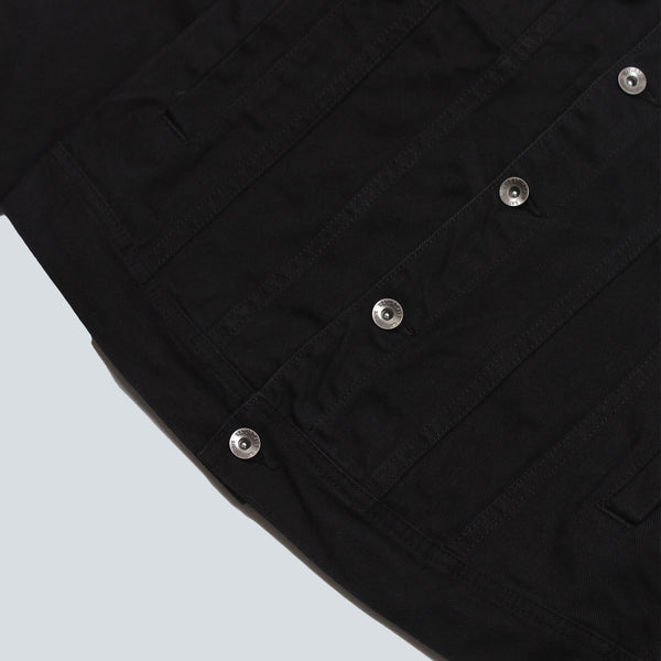 SATURDAYS NYC - EMIL COTTON DENIM - BLACK