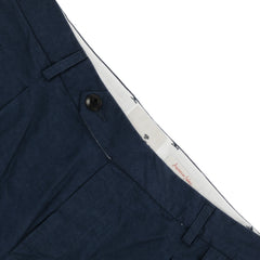 A.B.C.L. - Paul Linen Trousers - Navy
