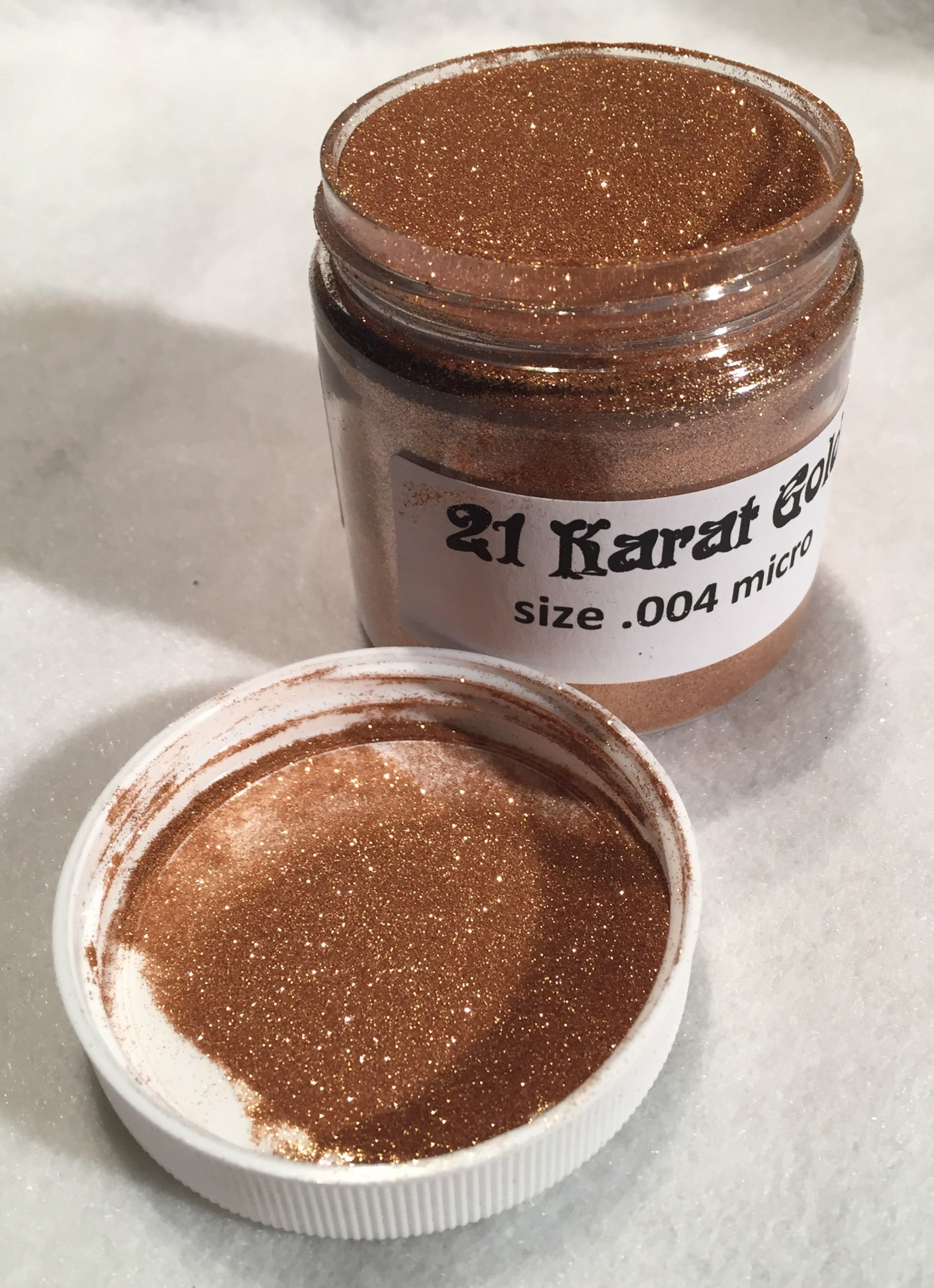21 Karat Gold Flake 4 oz