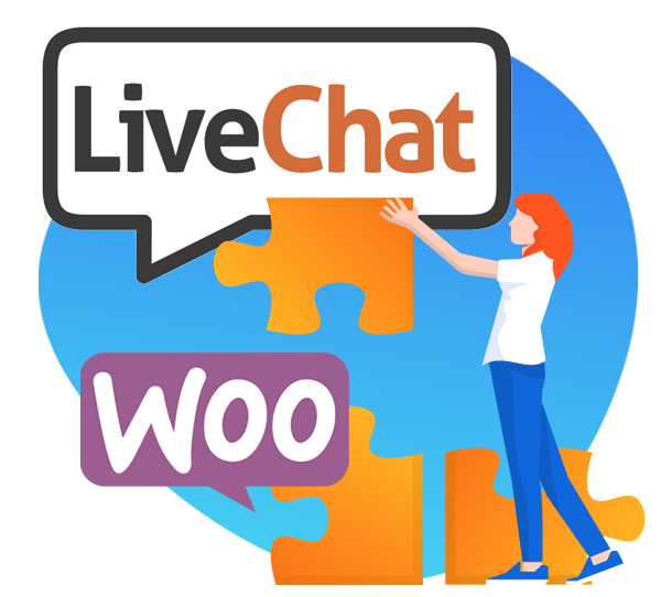 LiveChat WooCommerce Integration