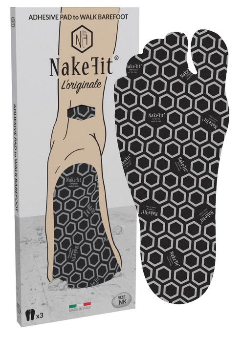 NAKEFIT BLACK - 3 pairs