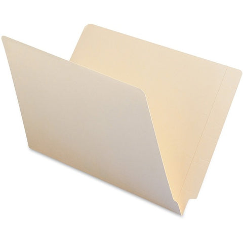 Smead Manufacturing Company Straight Cut 2-Ply End Tab File Folders