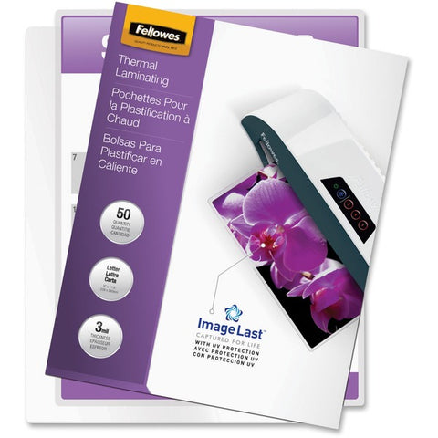 Fellowes, Inc Letter-size Glossy Laminating Pouches