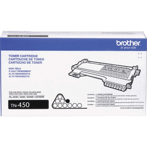Brother Industries, Ltd TN450 Toner Cartridge