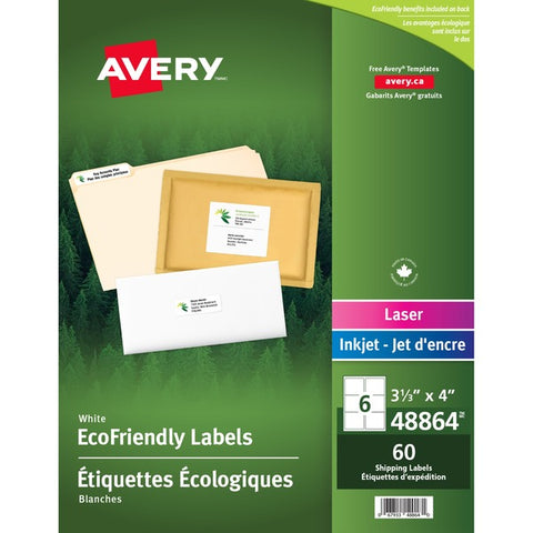 Avery EcoFriendly Mailing Label