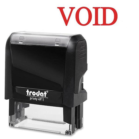 Trodat GmbH Printy Red Void Self-Inking Stamps