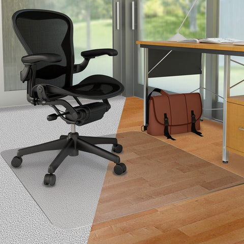 Deflecto, LLC DuoMat Carpet/Hard Floor Chairmat