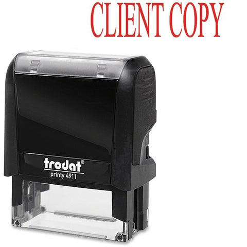 Trodat GmbH Self-inking Client Copy Stamp