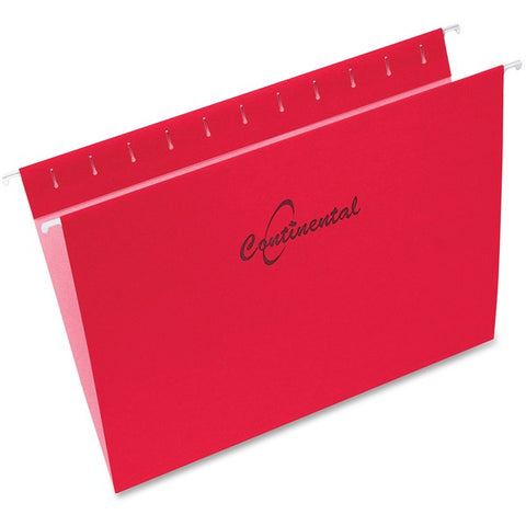 Continental Filing System Inc Letter Size Hanging Folders